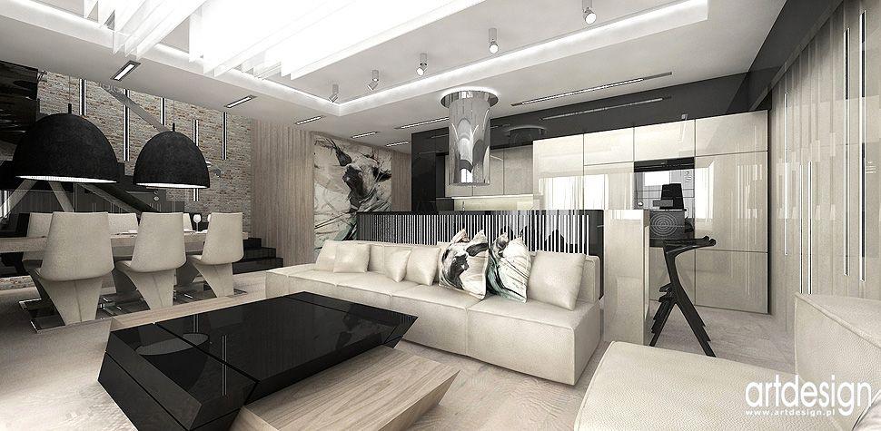 projekty wnetrz Krakow luksusowy apartament