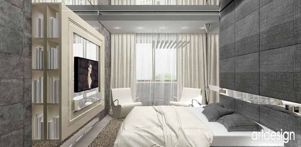 luksusowa sypialnia apartament