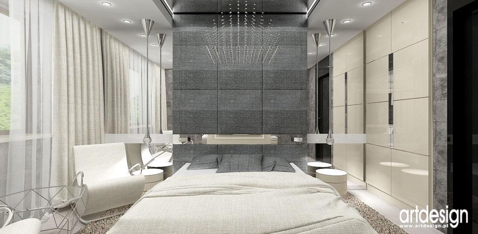 designerska sypialnia apartament