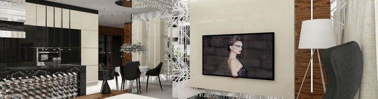 wnetrza apartamentu luksusowy design salon