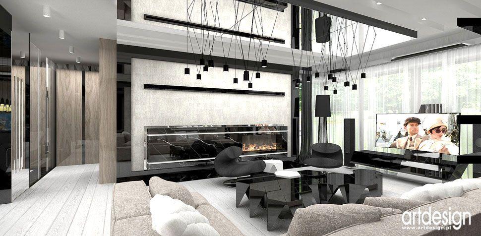 luksusowe aranżacje wnętrz domu