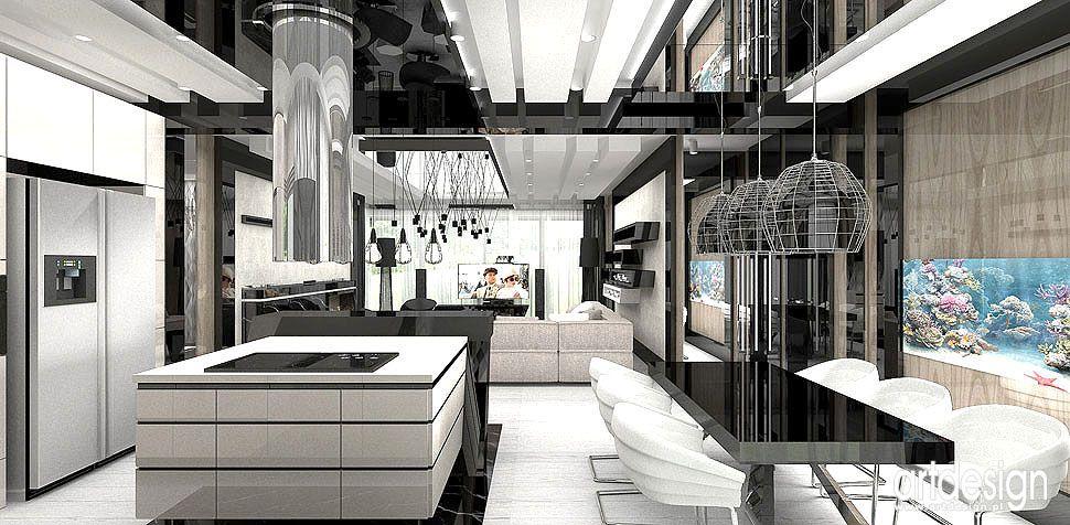 projektanci kuchnia nowoczesna wnętrza
