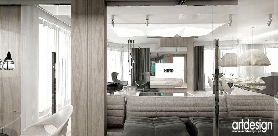 open space wnetrza apartamentu