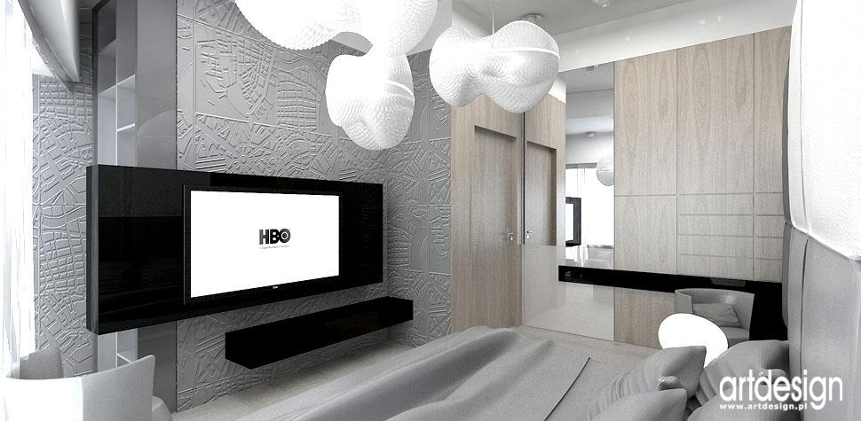 wnetrza projektowanie sypialnia
