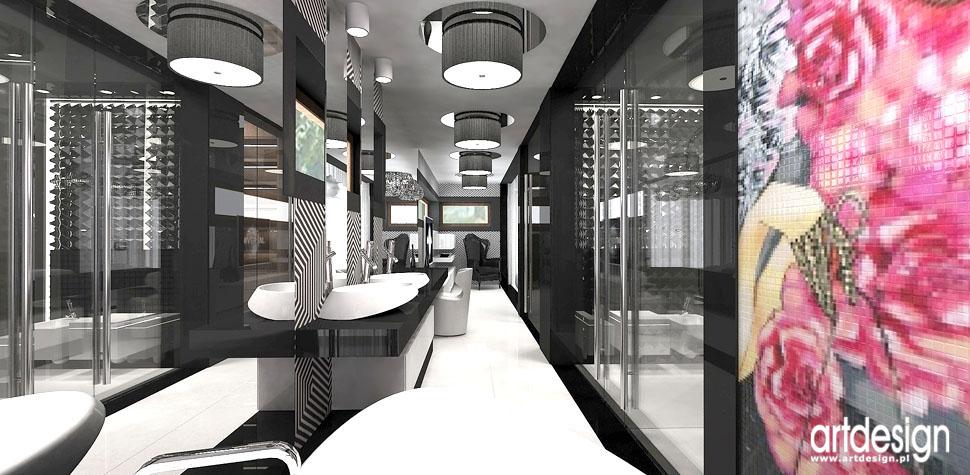 salon kapielowy projekty