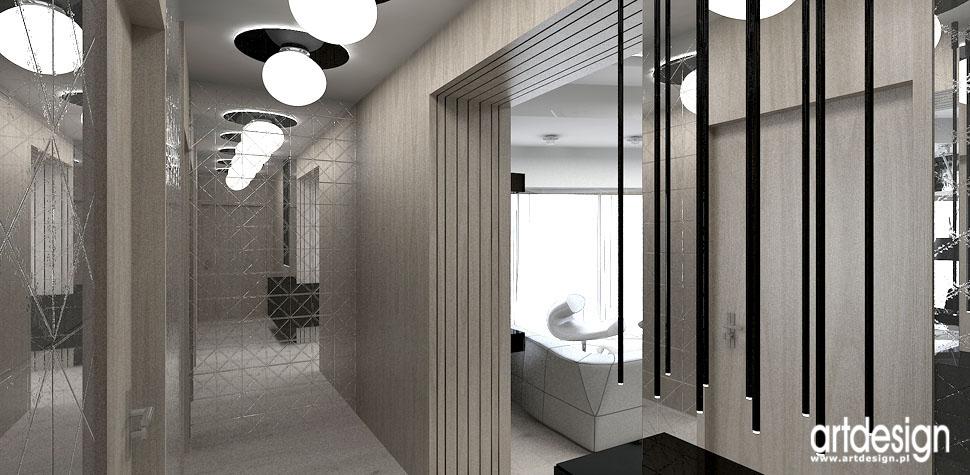 design aranzacja luksusowe mieszkanie