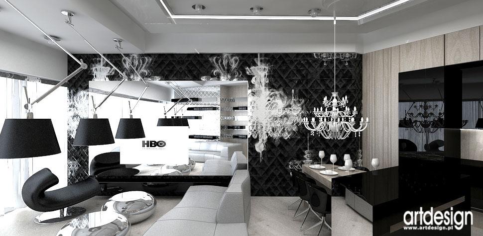luksusowe wnetrza mieszkania