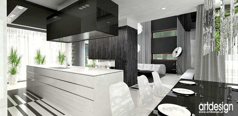 projekty wnetrz luksusowa kuchnia