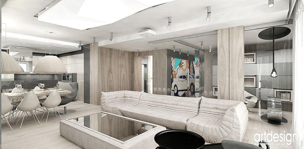 wnetrza nowoczesny apartament