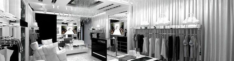 architektura wnetrza salonu sprzedazy luksusowy sklep projekty