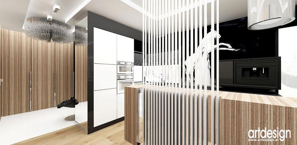 projekt kuchni nowoczesny design