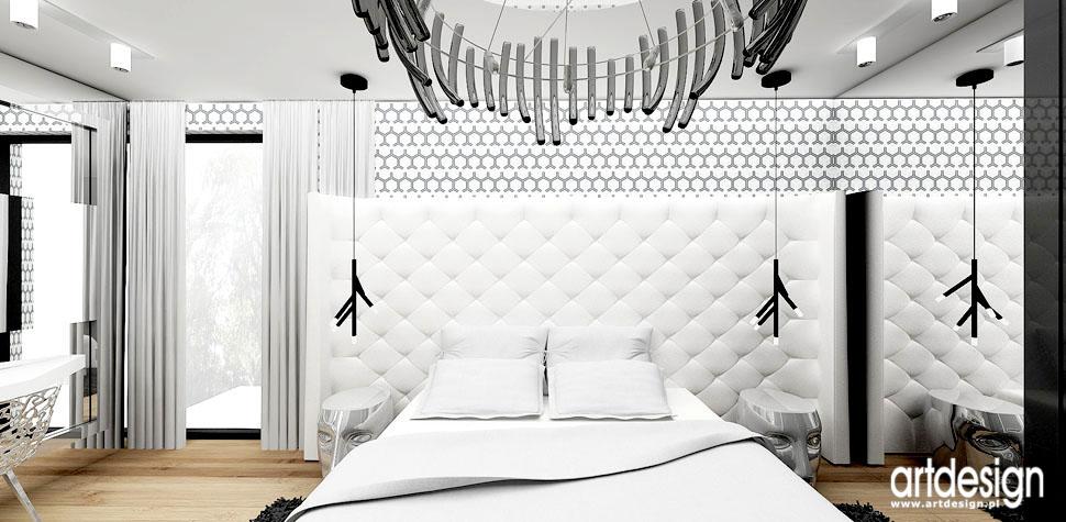 sypialnia z kominkiem wnetrza