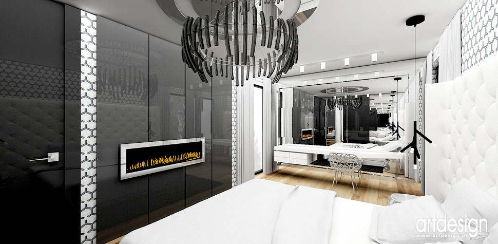 design sypialnia