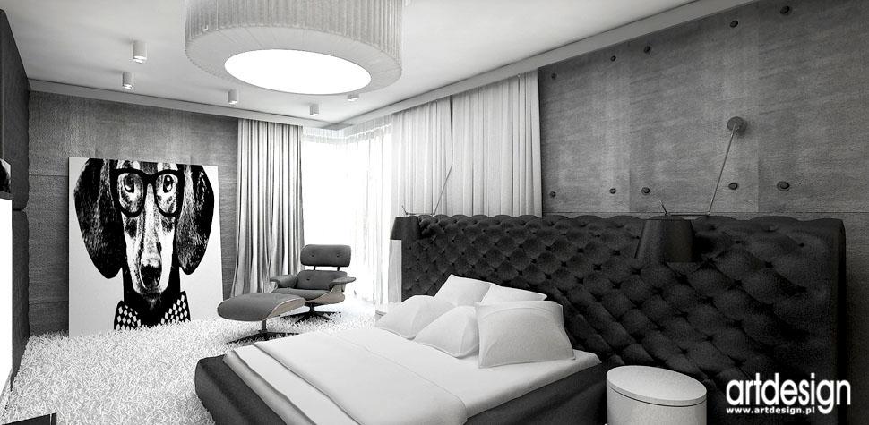 architektura wnetrz projekty dla wymagajacych sypialnia