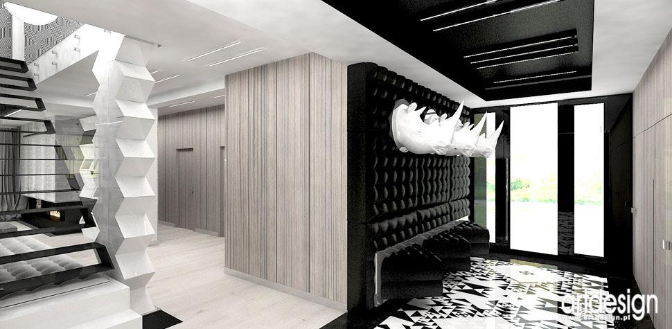 designerskie wnetrza domow hol