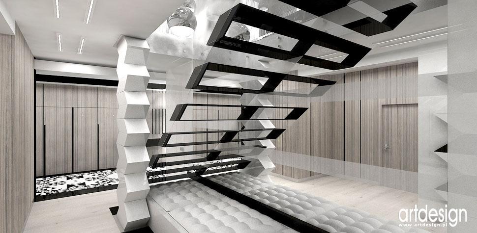 nowatorskie wnetrza domow schody