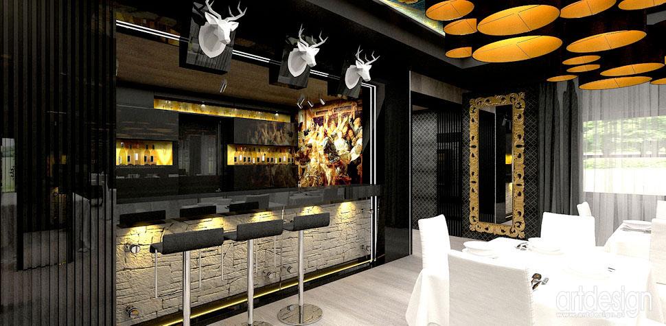wnetrza restauracja designerskie