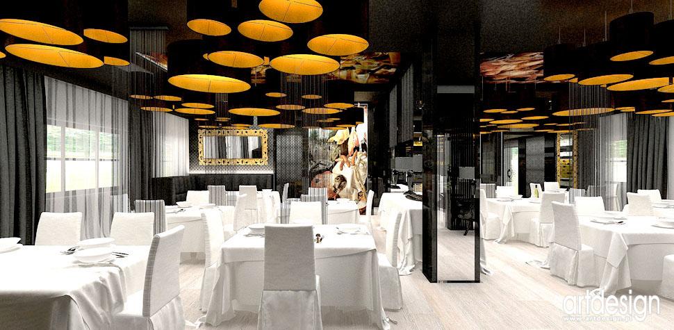 projekty wnetrz restauracji krakow architekci