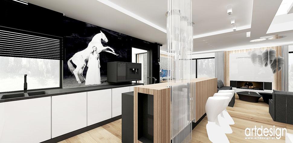 projekty architektura wnetrz kuchnie