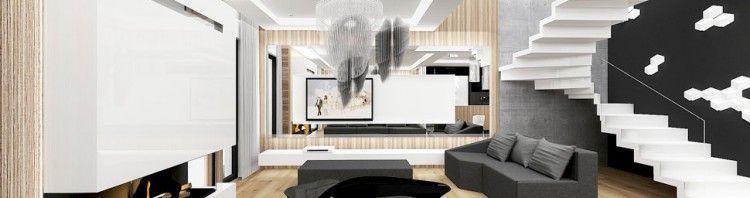 wnetrza nowoczesnych domow salonow