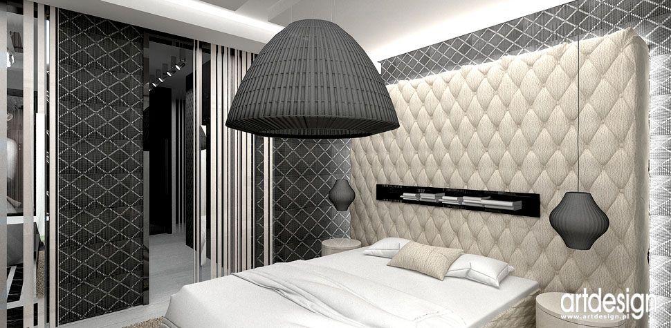 sypialnia projekty wnetrz