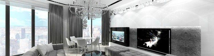 architektura wnetrz apartament salon