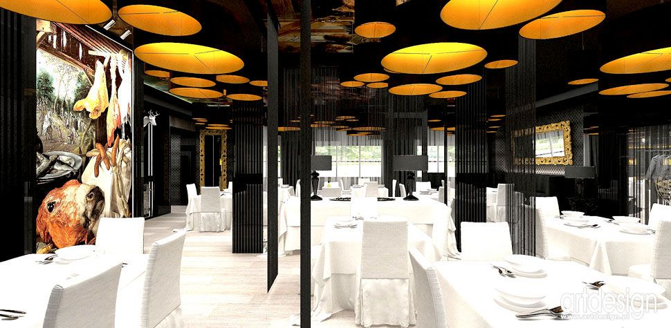 restauracja projekty wnetrza aranzacje