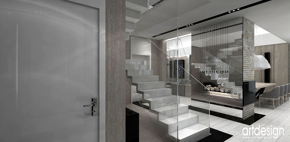 architektura wnetrz domu projekty