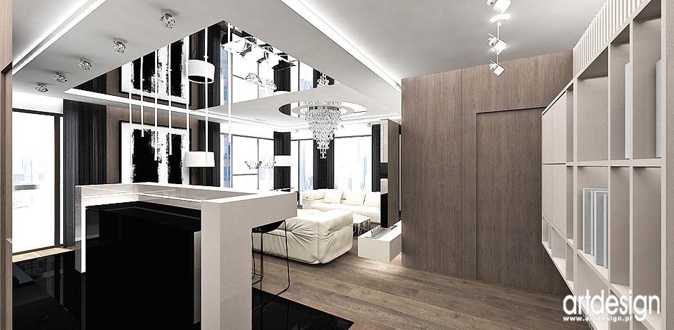 wnetrza apartamenty w stylu nowoczesnym wnetrza kuchni
