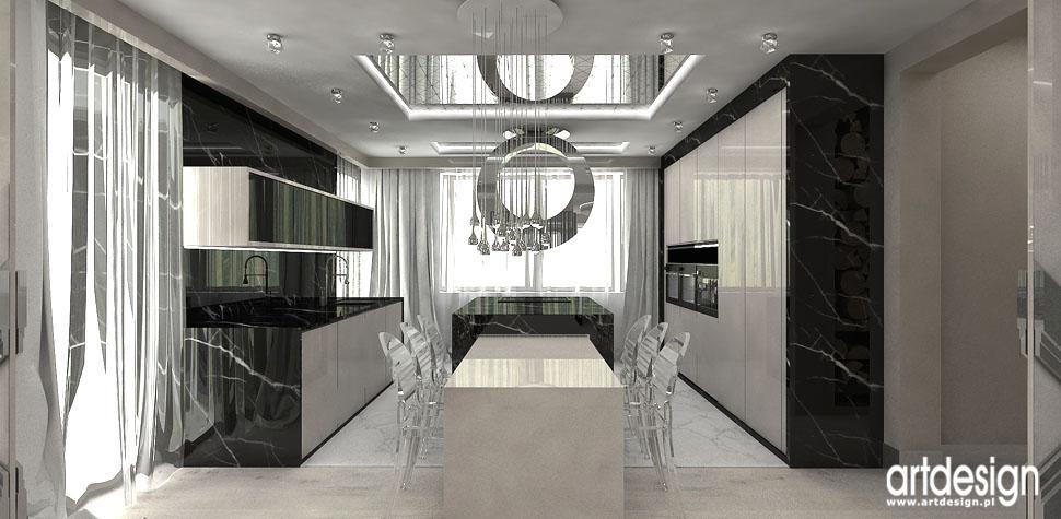 aranzacje luksusowa kuchnia w rezydencji