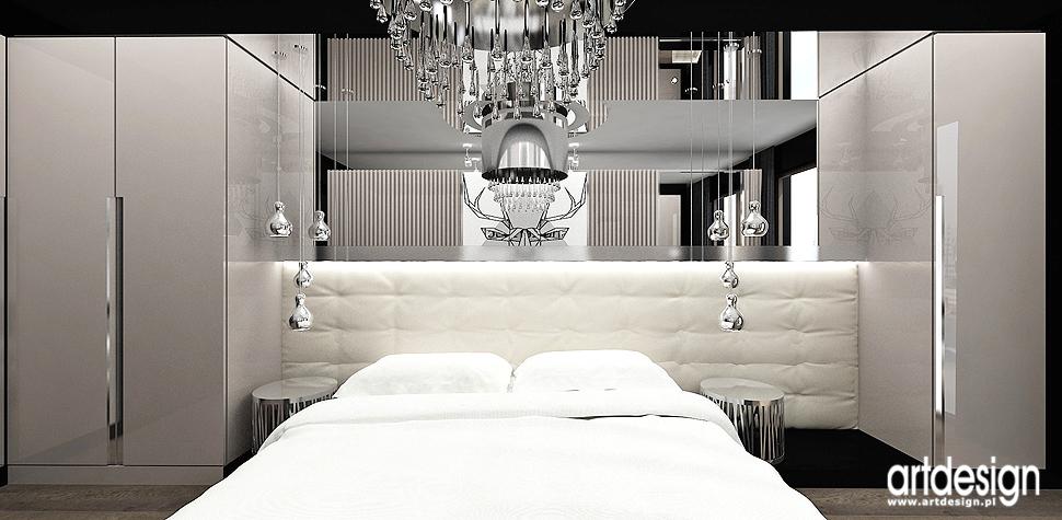 design wnetrza projekty sypialnia apartament