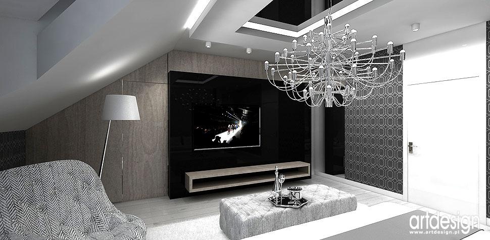 luksusowe aranżacje wnętrz domow