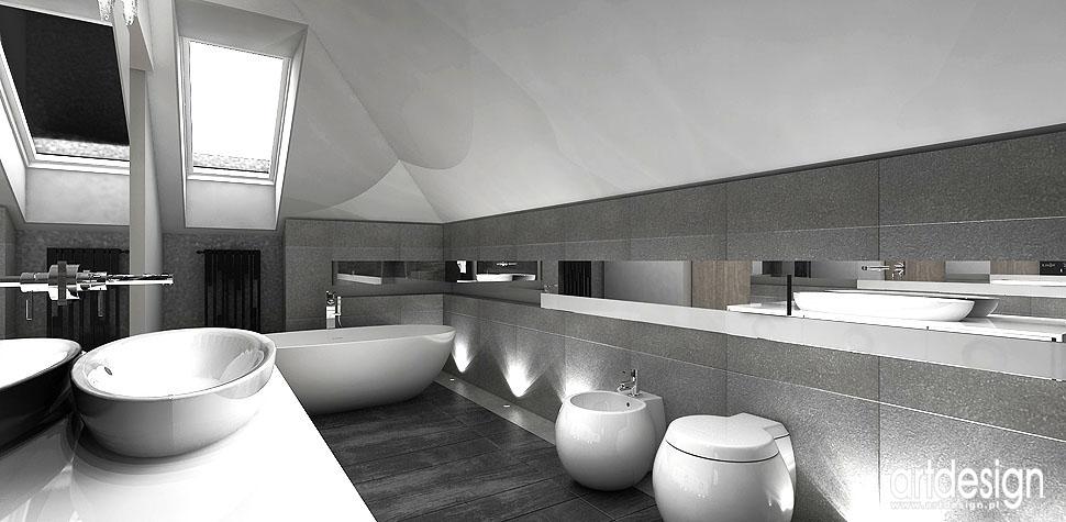 nowoczesna łazienka projektanci wnętrz