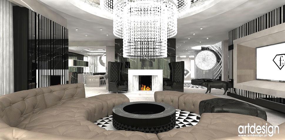 architektura wnetrz rezydencja salon