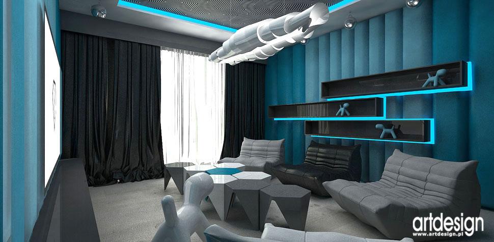 pomieszczenie kina domowego