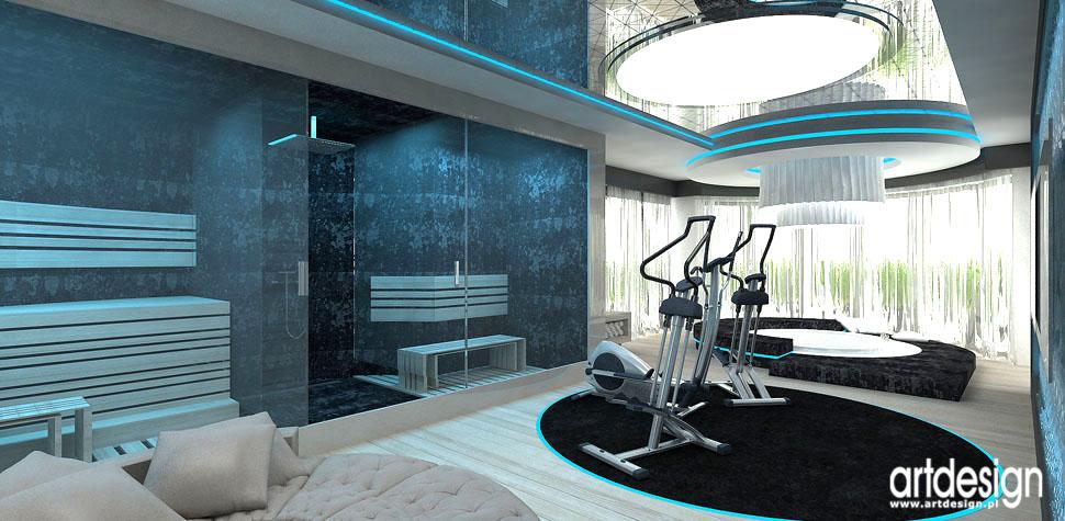 przestrzen relaksu w domu spa sauny