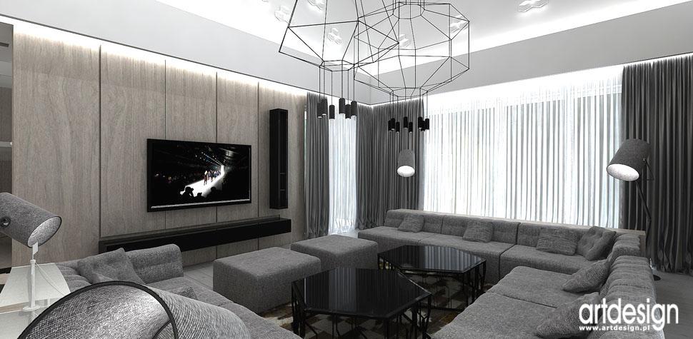 wnetrza design projektowanie aranzacja salon