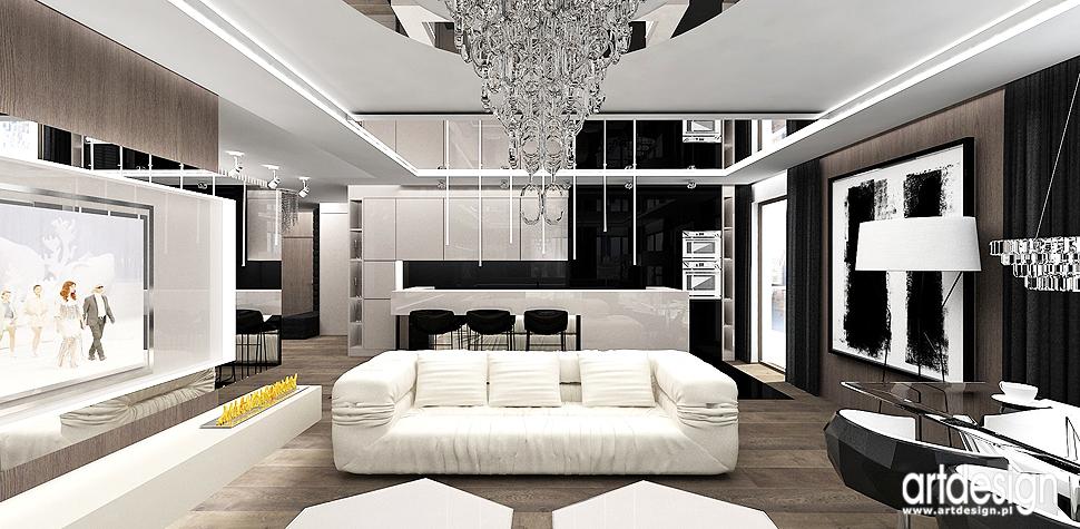 apartament luksusowy design wnetrza