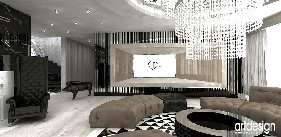 wnetrza luksusowa architektura domu