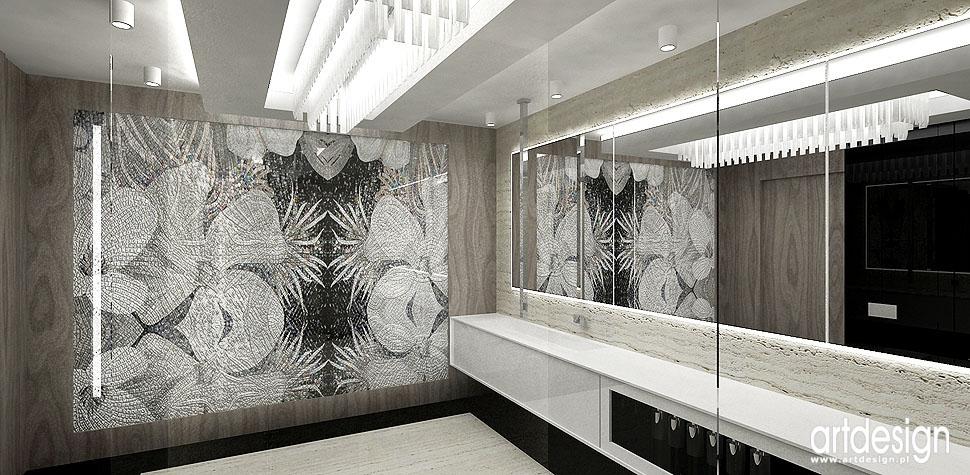 aranżacje łazienek projekty luksusowe