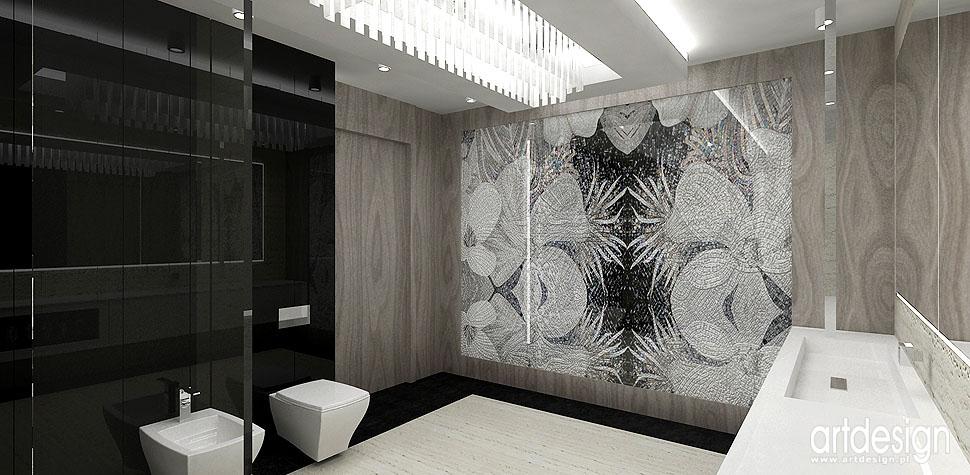 łazienka eleganckie wnętrza architekt wnętrz