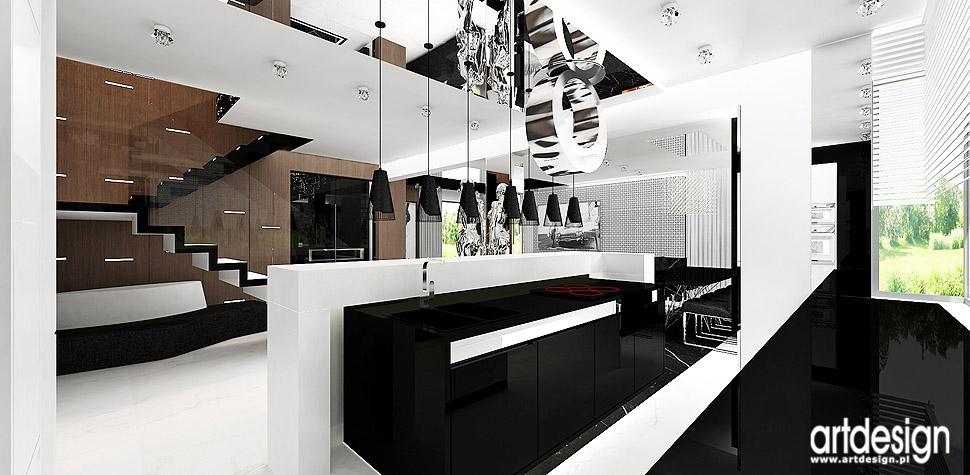 projektant wnętrz kuchnia dom eleganckie