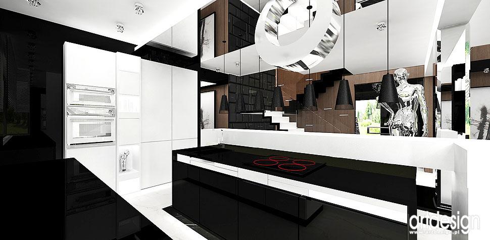 projektowanie wnętrz kuchnie nowoczesne