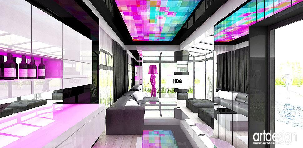 barek relaks room wnętrza nowoczesne projekty