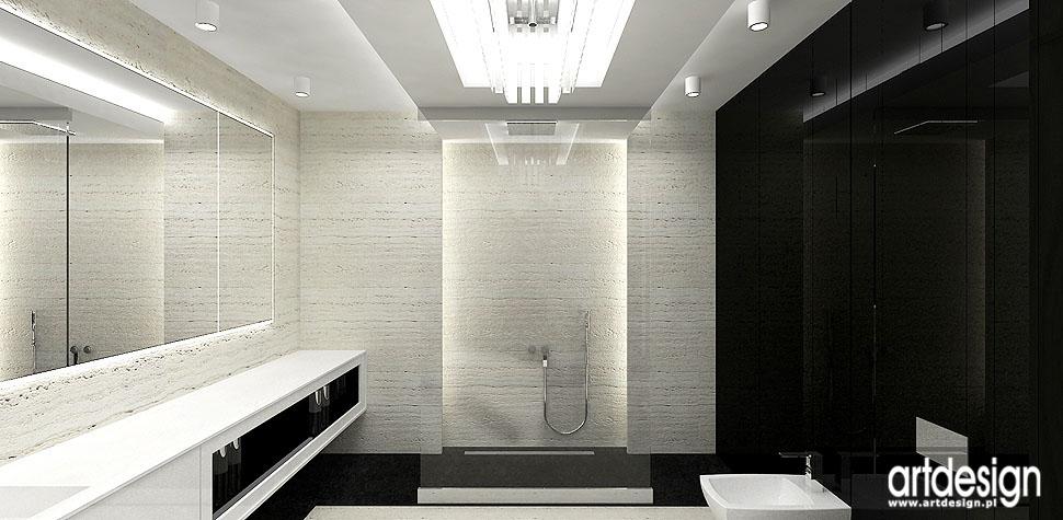 wnętrza nowoczesne projekty łazienka