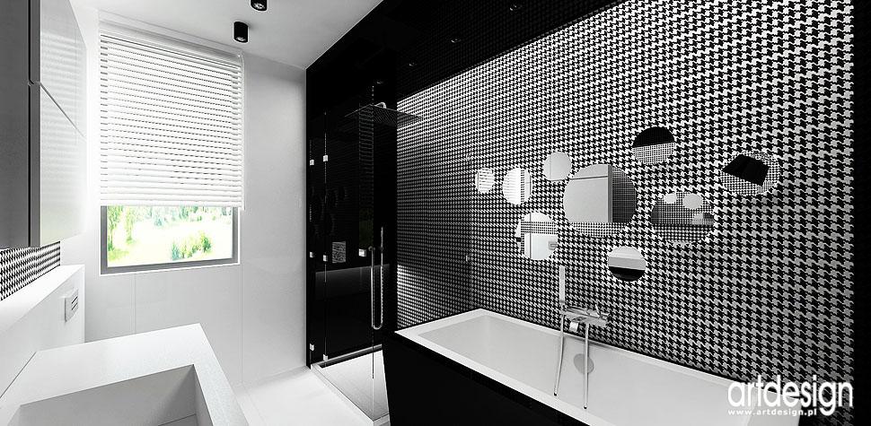 aranżacje nowoczesna łazienka projektowanie wnętrz domu