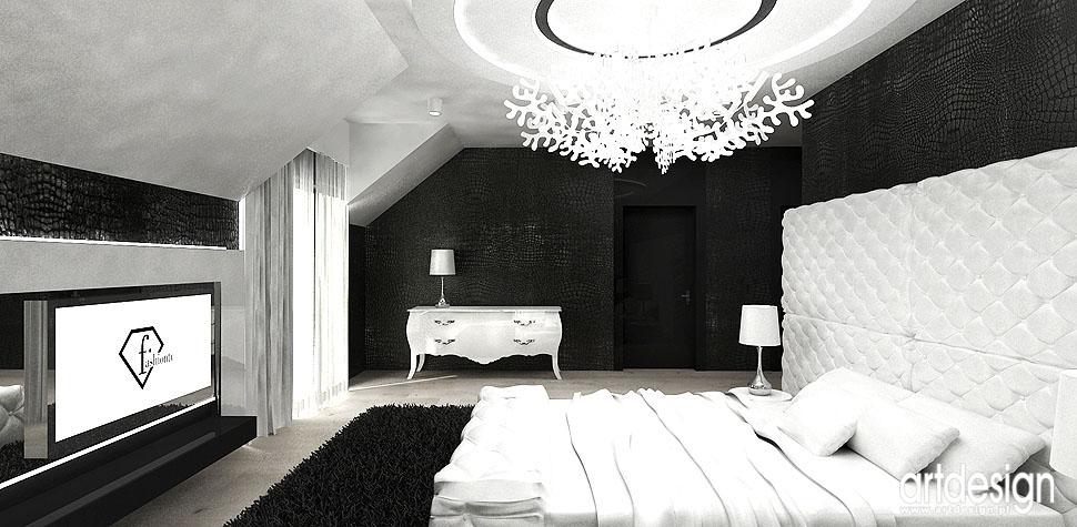 sypialnia design luksusowe wnętrza