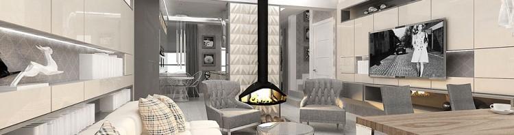 dom wnętrza projekty salon