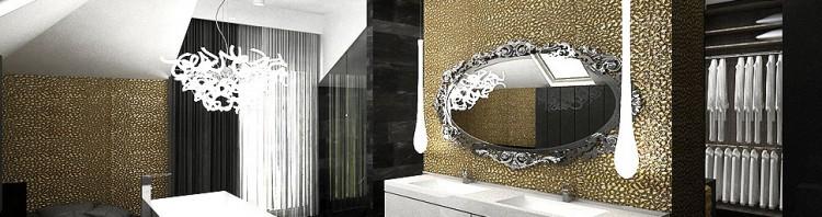 łazienka garderoba projektowanie wnętrza