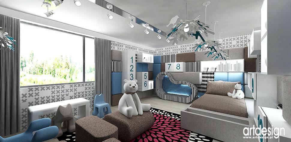 aranżacja pokoje dzieciece wnętrza dla dzieci